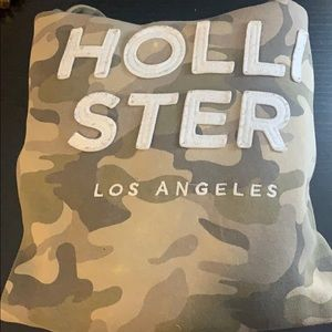 camouflage hollister hoodie
